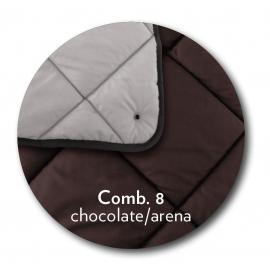 EDREDON NORDILETTO CHOCOLATE/ARENA